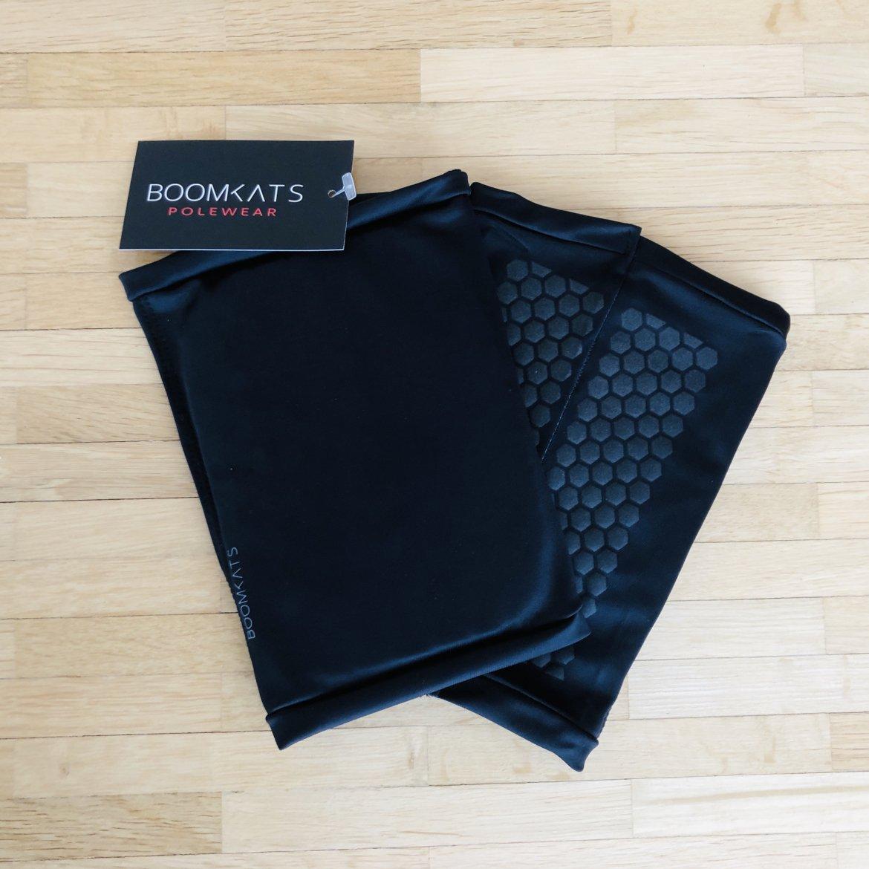 1 Paar Poledance Knieschoner in schwarz von BoomKats